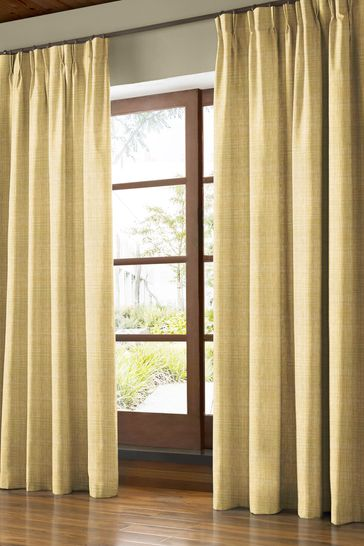 Scribble Olive Green Made To Measure Curtains by Orla Kiely