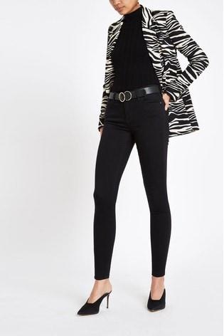 River Island Black Amelie Jeans
