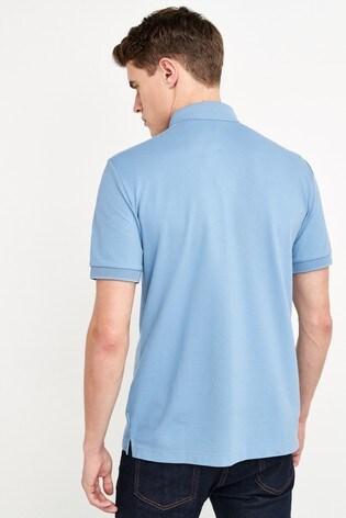 Armani Exchange Light Blue Polo