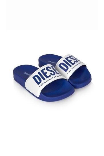Diesel Boys Blue Sandals