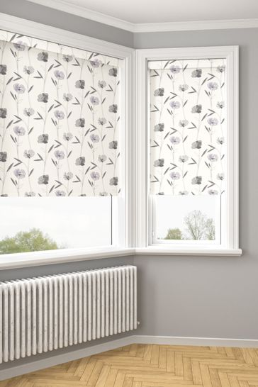 Izzy Lavender Purple Made To Measure Roller Blind
