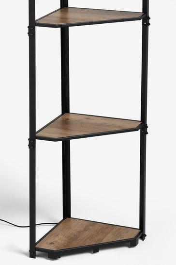 Corner Shelf Floor Lamp From Next, Corner Floor Lamp With Shelves Uk
