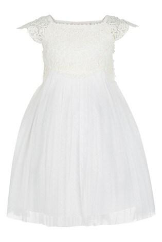 Monsoon Cream Baby Estella Dress