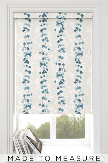 Tatton Blue Topaz Made To Measure Roller Blind