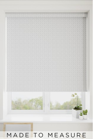 Tile Grey Made To Measure Roller Blind