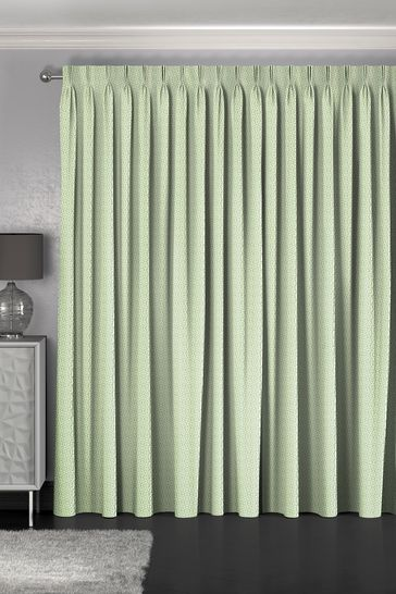 Maud Apple Green Made To Measure Curtains