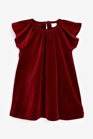 Red Velvet Dress (3mths-7yrs)