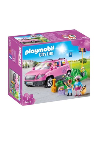 Playmobil® 9404 City Life Family Car With Parking Space And Removeable Windshield