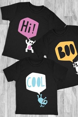 Personalised Cheeky Monsters Printed T-Shirt