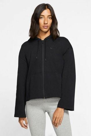 Nike Statement Jersey Zip Through Hoodie