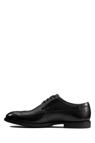 Clarks Black Ronnie Limit Shoes