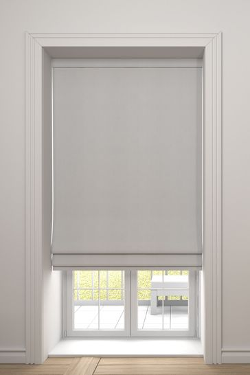 Imogen Champagne Cream Made To Measure Roman Blind