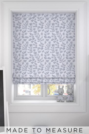 Lucerne Silver Grey Made To Measure Roman Blind