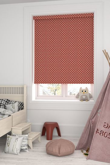 Twinkle Red Made To Measure Roller Blind