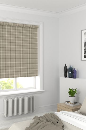 Malvern Hessian Natural Made To Measure Roller Blind