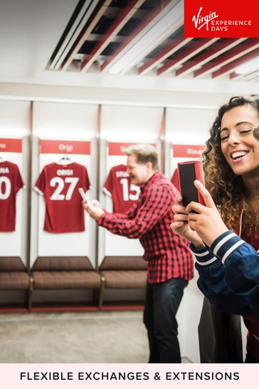 Liverpool FC Stadium Tour Museum Entry For Two Gift Experience by Virgin Experience Days