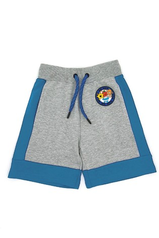 Fabric Flavours Grey Mr. Men Badgeables Sweat Shorts