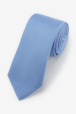 Light Blue Signature 'Made in Italy' Tie