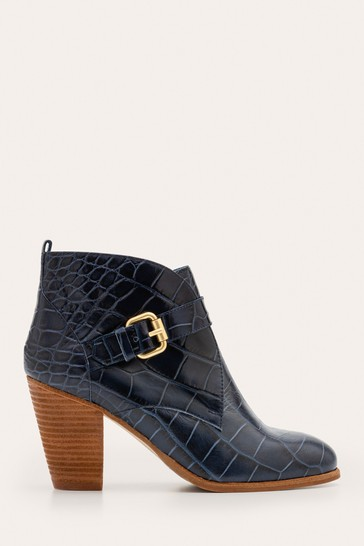 Boden Blue Carlisle Ankle Boots
