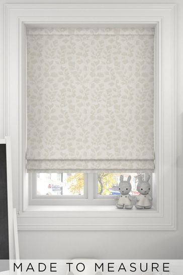 Oyster Natural Lucerne Made To Measure Roman Blind