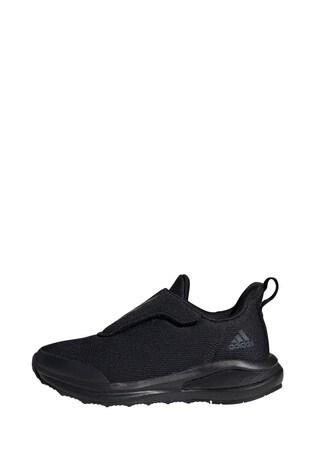 adidas Run Black FortaRun Junior and Youth Trainers