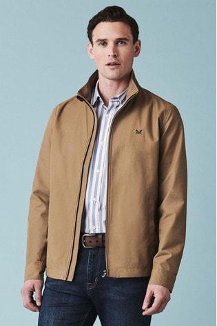 Crew Clothing Tan Harrington Jacket