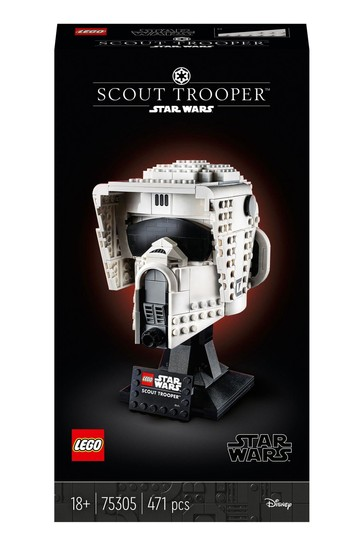 LEGO 75305 Star Wars Scout Trooper Helmet Set For Adults