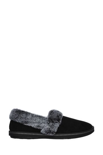 Skechers® Black Cozy Campfire Team Toasty Slippers