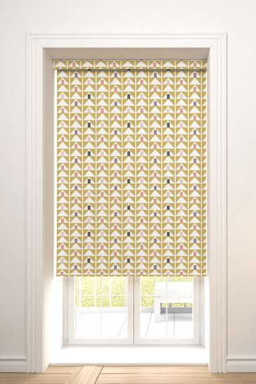 Prism Ochre Yellow Made To Measure Roller Blind