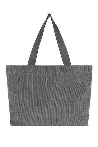 Accessorize Grey Cord Shopper