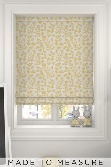 Lucerne Zest Gold Made To Measure Roman Blind