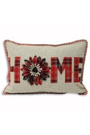Home Appliqué Cushion by Riva Home