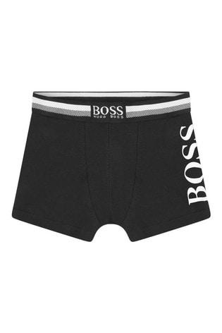 BOSS Navy Logo Boxers Three Pack