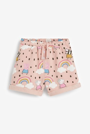 Pink Peppa Pig Licence Shorts (3mths-7yrs)