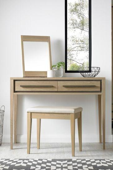 Rimini Oak Dressing Table by Bentley Designs