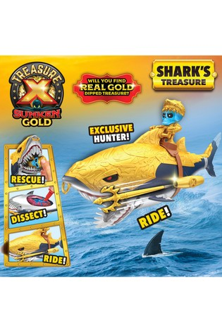 Treasure X Sunken Gold Sharks Treasure