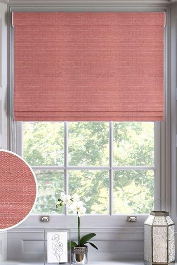 Jasper Blush Pink Made To Measure Roman Blind