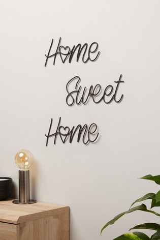 Home Sweet Home Wire Plaque