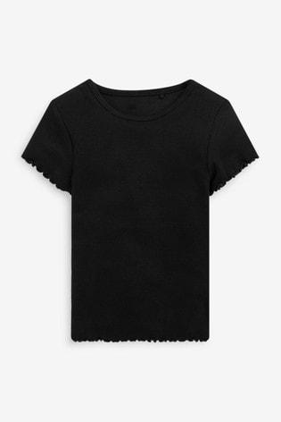 Mono Core 3 Pack Short Sleeve Ribbed T-Shirts (3-16yrs)