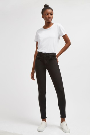 """French Connection Black R Rebound 30"""" Skinny Jeans"""