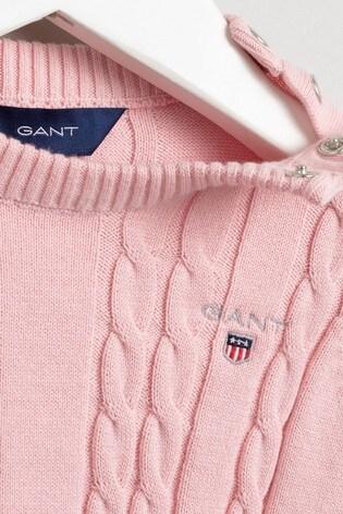 GANT Cotton Cable Dress