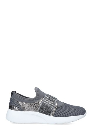 Carvela Grey Connie Slip On Trainers