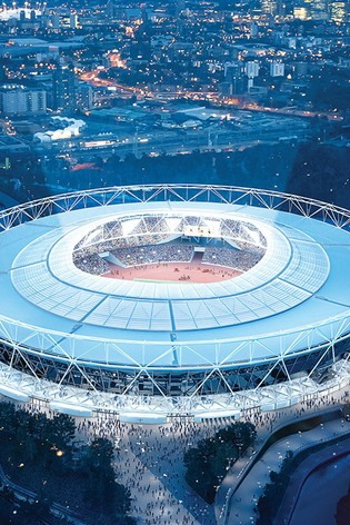 London Stadium Tour For One Adult And One Child Gift by Virgin Experience Days