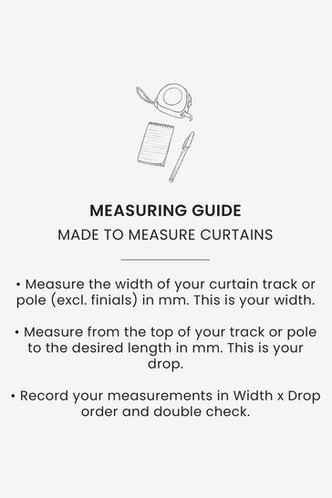Soho Ecru Natural Made To Measure Curtains