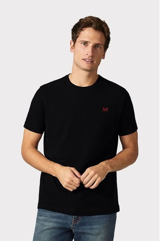 Crew Clothing Company Black Crew Classic T-Shirt