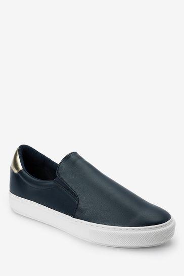 Navy Forever Comfort® Slip-On Trainers