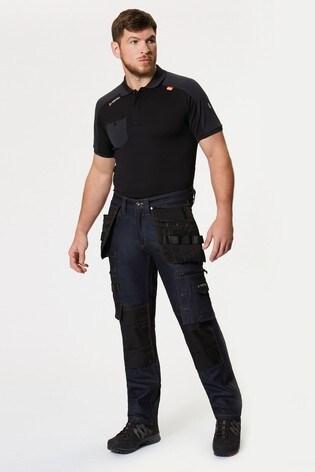 Regatta Blue Deductive Denim Workwear Trousers