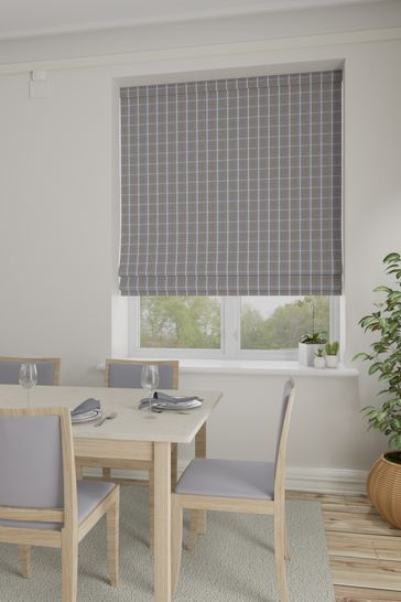 Malvern Pebble Natural Made To Measure Roman Blind