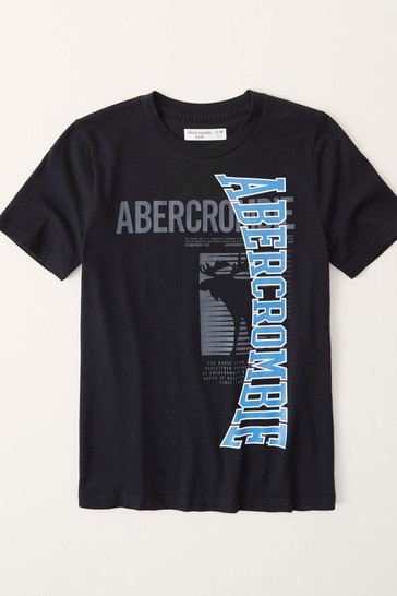 Abercrombie & Fitch Short Sleeve Sporty Logo T-Shirt