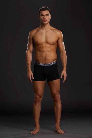 Nike Everyday Cotton Stretch Trunks Three Pack